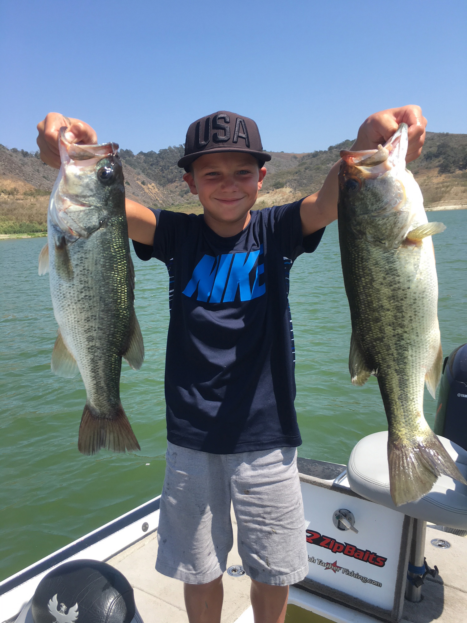 Lake Casitas Fishing Guide 08/21/2018