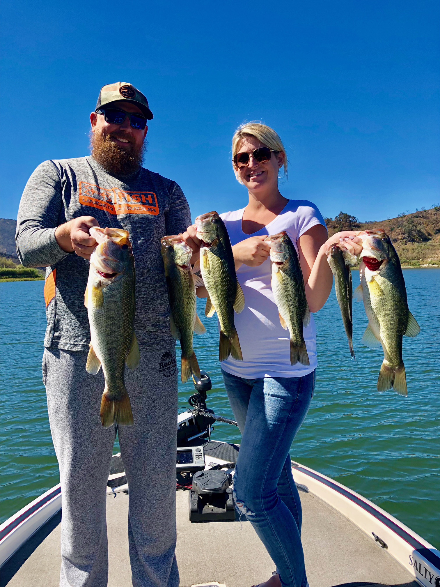 Lake Casitas Fishing Guide 09/18/2018