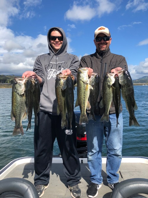 Lake Casitas Fishing Guides Report 03/26/2019