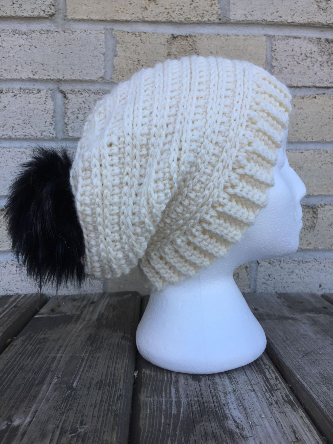 714c4ff60 Snowy Day Toque, Messy Bun and Slouch Hat - A Free Crochet Pattern ...