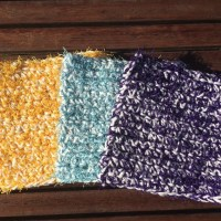 Spring Cleaning Day One! The Scrubby Cloth - A Free Crochet Pattern