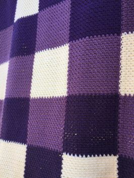 Learn to make lavender throw