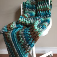 Ripple in Time Throw - A Free Crochet Pattern