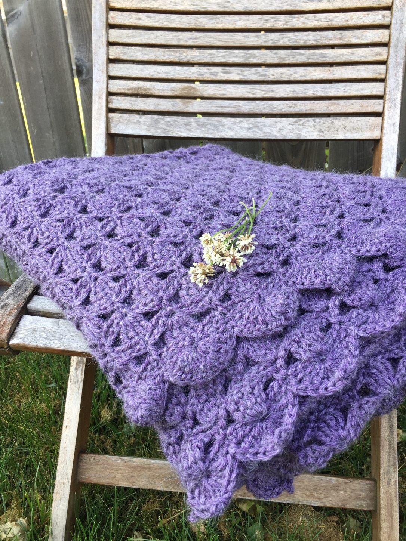 clover meadows crochet throw