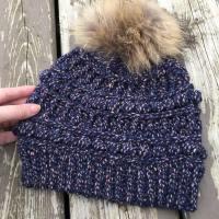 Rustic River Beanie - Free Crochet Pattern