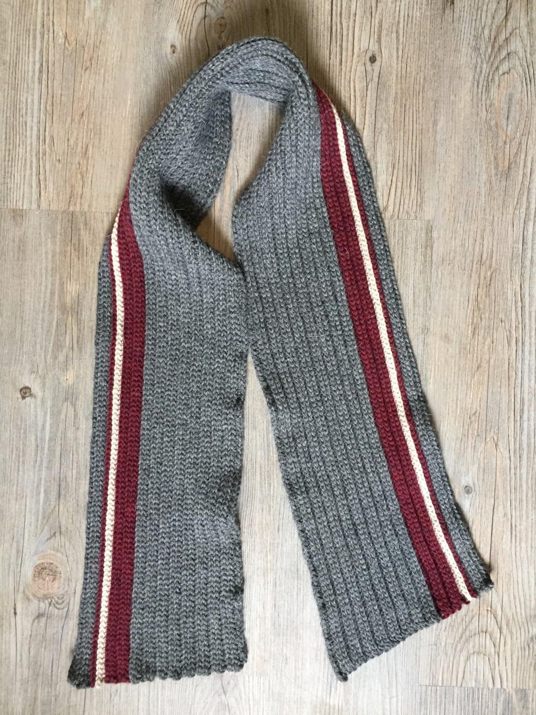 Mens Classic Crochet Scarf Free Crochet Pattern Rich Textures