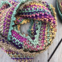 Twisted Cowl Crochet Pattern