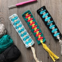 Spiked Granny Bookmark | Free Crochet Pattern