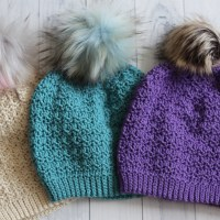 Primrose Beanie Crochet Pattern