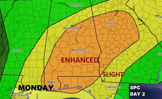 2 Significant Severe Threats: Monday & Wednesday – Special