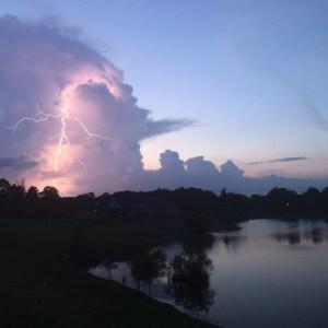 Storm over Lake Martin