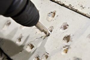 Beton bohren ohne ausbrechen