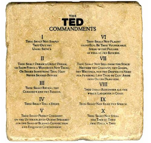 tedcommandments