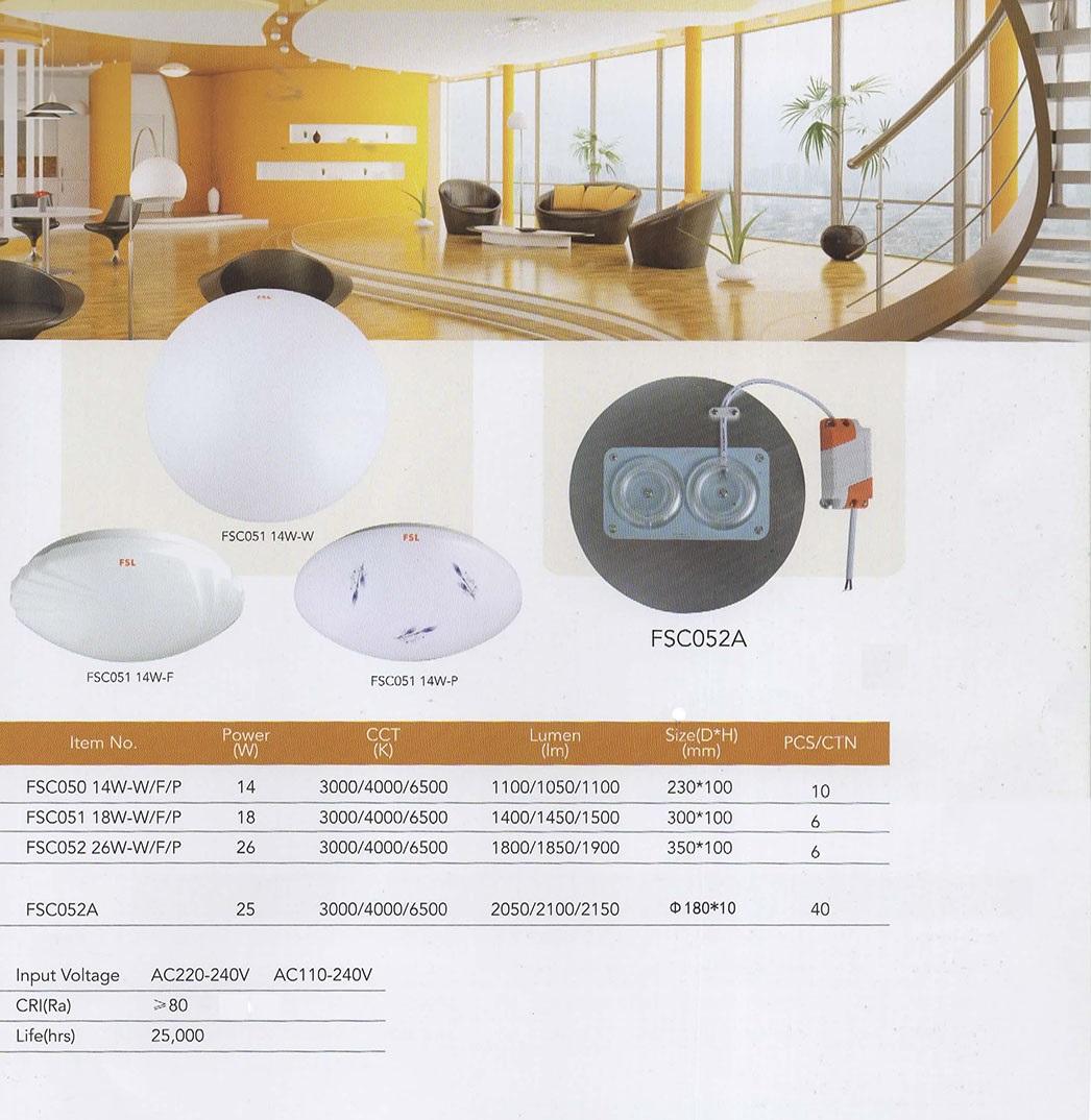 hight resolution of fsi led lighting