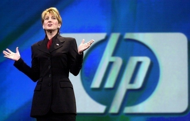carly fiorina at hewlett-packard
