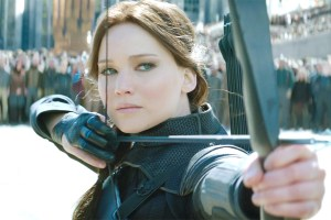 jennifer lawrence katniss hunger games franchise