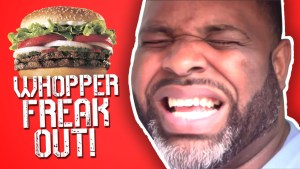 burger king freak out campaign