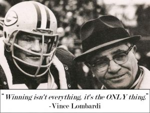 lombardi winning isn't everything