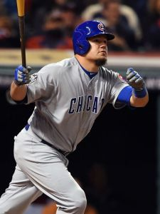 the cubs' kyle schwarber
