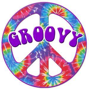 groovy peace symbol