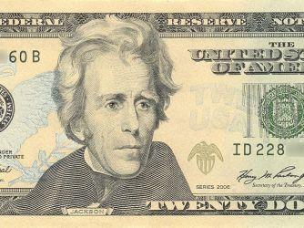andrew-jackson-on-the-$20-bill-vocabulario-en-inglés