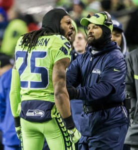 richard sherman pissed on the sidelines