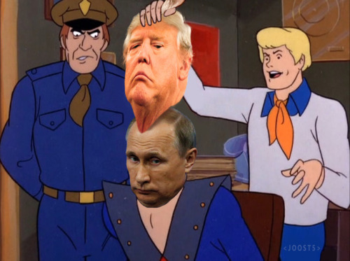 scooby doo fred reveal trump to be putin