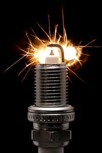 spark plug sparks