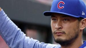 yu darvish of the chicago cubs