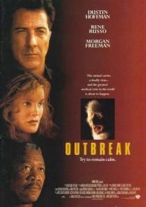 movie poster for outbreak--vocabulario en inglés