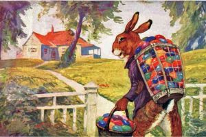 easter-bunny-delivering-eggs
