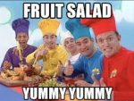fruit salad yummy, yummy: cool english vocabulary from the wiggles