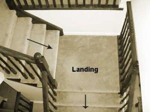 stairway landing