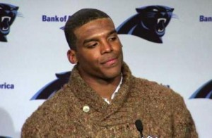 frustrated cam at press conference