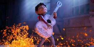 miguel playing the guitar