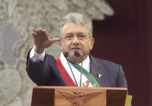 when amlo was proclaimed the legitimate president in 2006
