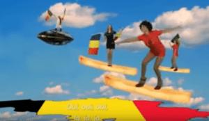 a promo for belgium's national football team
