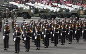south korea armed forces day ceremony