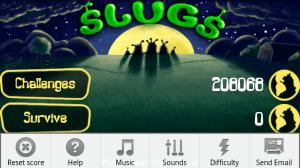 Slugs - Pantalla de Menú