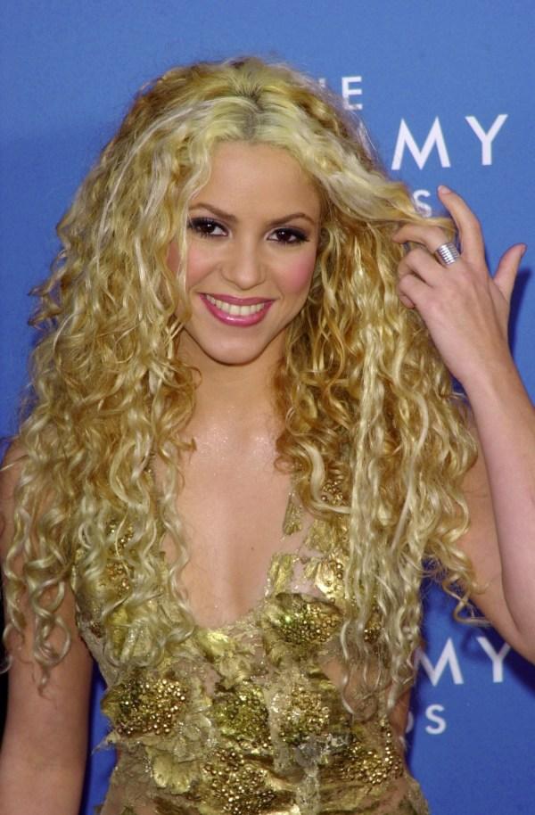 Shakira Curly Hair