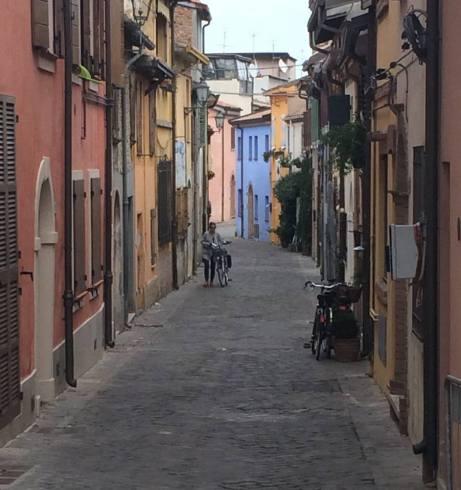 Street. San Giuliano, Rimini IT