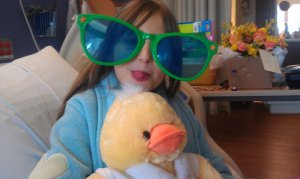 June Sunglasses from Arne. First major Hospital stay April 21 2011