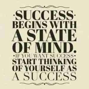 Success is mindset.