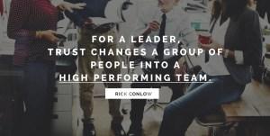 Creating Leadership Trust that Inspires People
