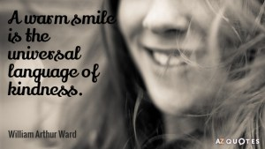 Smile It Can Change the World