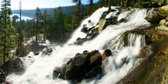 The Falls Above Emerald Bay, Lake Tahoe