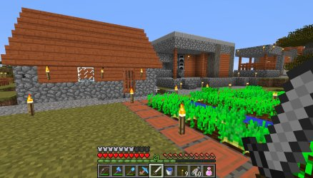The Diamond Hammer: Minecraft with the Hammer Of Retribution Ogg Cast