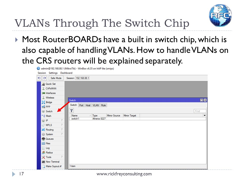 Using VLANs on RouterBOARDs (18)