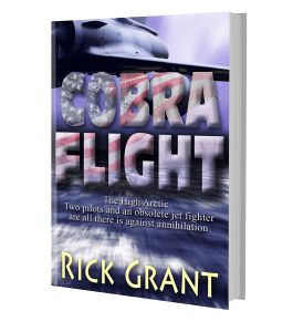The paperback edition of Cobra Flight as a 3d image