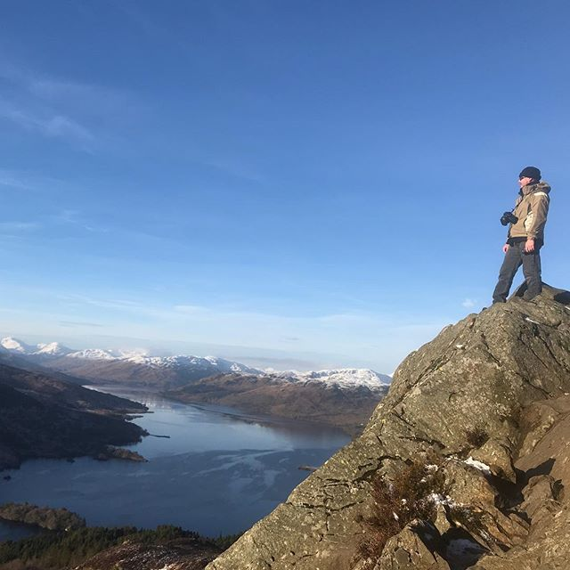 I love being on top of the world. At least on top of Ben A'an. Nature is awesome.#lovewhereyouare #gratitide #scotland #benaan #lovenature